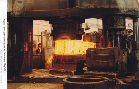 1500 Ton Forging Press at Daniel Doncaster, Sheffield, Part 2