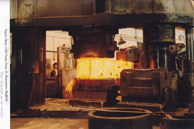 1500 Ton Forging Press at Daniel Doncaster, Sheffield, Part 2