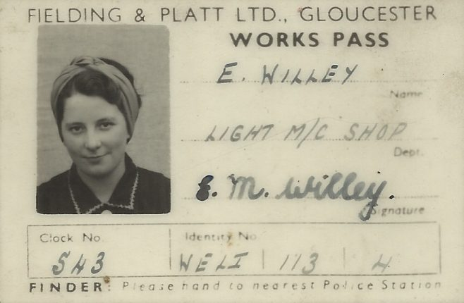 Edith May Williams (nee Willey)