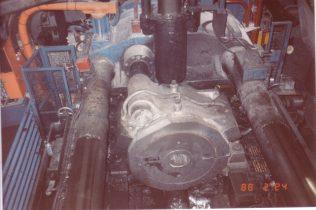 1600 ton Horizontal Extrusion Press, Number 9, O/No. E83130, c.1973   Paul Boscott