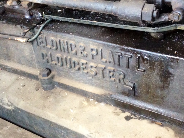 Fielding & Platt Machinery