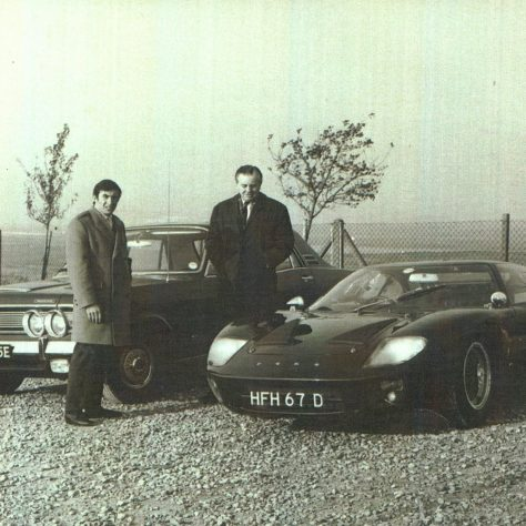 FJF and Jackie Stewart | Kindly supplied by Andrew Fielding