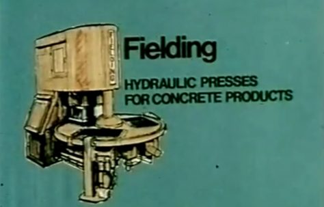 Hydraulically Pressed Concrete