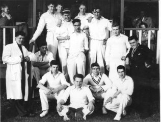 Apprentice Cricket at Worcester 1955
