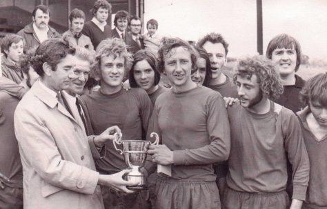 Fielding's winning the Sunday League Cup