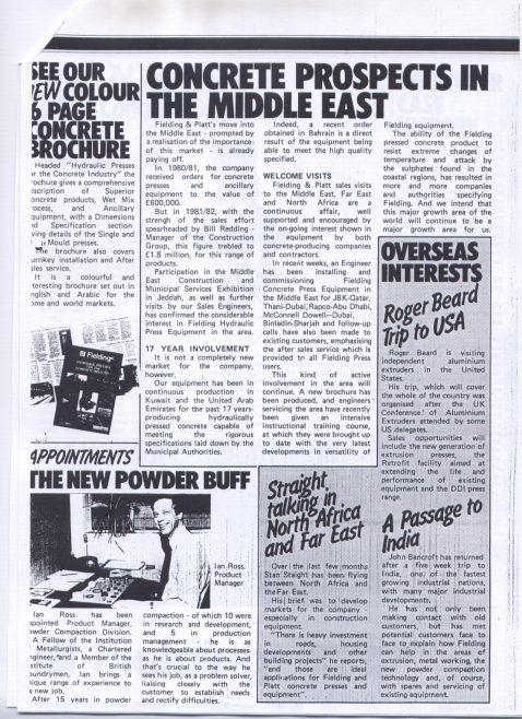 Fielding Forum - July 1983