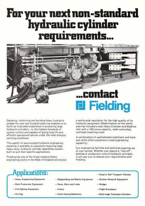 Heavy Duty Hydraulic Cylinders_02 | Gloucestershire Archives