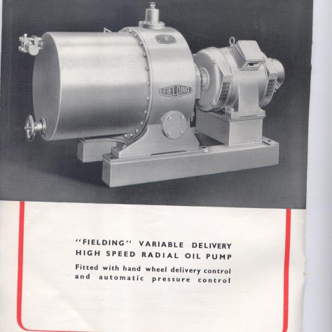 Variable Delivery Oil Pumps