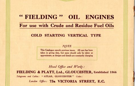 Vertical Oil Engine