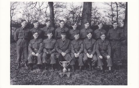 Winners of the Inter-platoon Competition