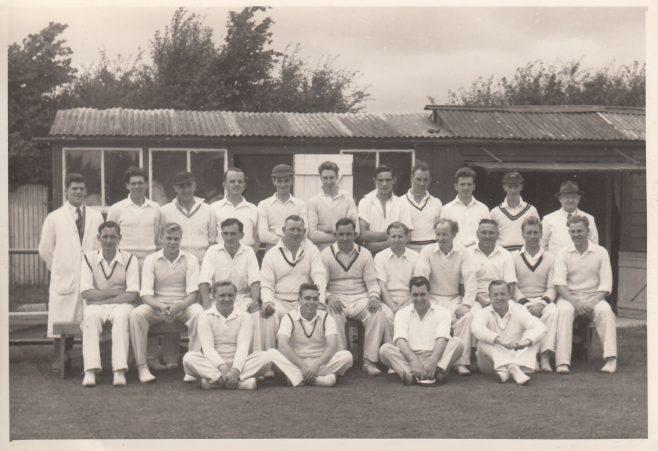 Cricket team photograph   Jenny Mason & Mrs Cole