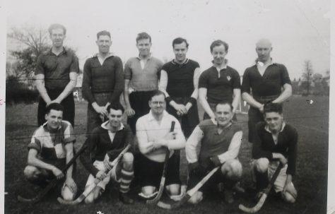Men's Hockey XI, 1948