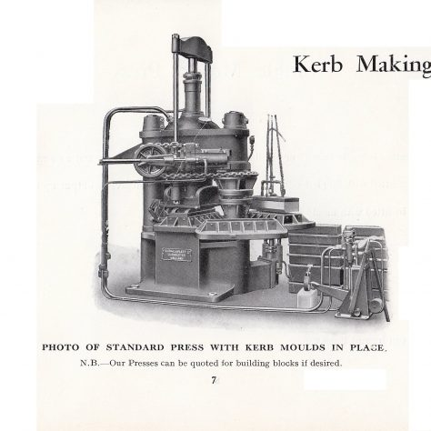 Hydraulic Presses for Paving Slabs and Kerbs_07 | Gloucestershire Archives and John Bancroft copy