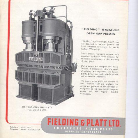 Hydraulic Presses for Railway Workshop Equipment