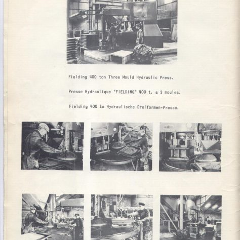 Hydraulic Presses for the production of concrete Slabs & Kerbs