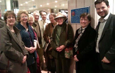 Official unveiling of historic blue plaques at Gloucester Quays