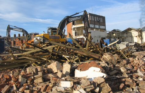 Demolition of the Factory!