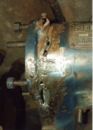 Welding repair in water Jacket | Trevor Hill