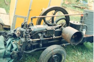 Engine prior to restoration | Trevor Hill