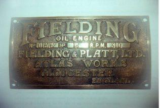 'Fielding' Oil Engine | Trevor Hill
