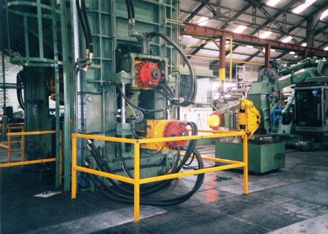 JB164  Charger with hot ring approaching the Rolling Mill - contd. | Supplied by John Bancroft