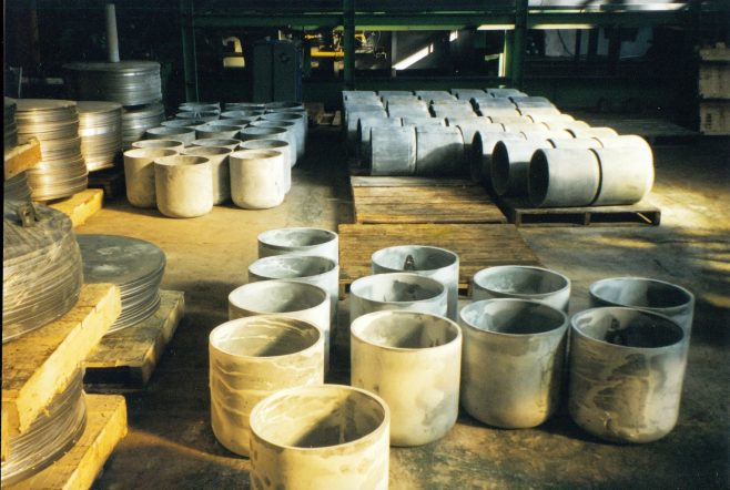 JB258  First stage cups - phosphated & soaped | Supplied by John Bancroft