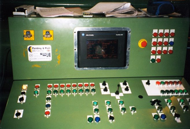 JB270  12MN Cupping press control console | Supplied by John Bancroft