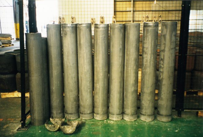 JB275  Cylinders after final draw process | Supplied by John Bancroft