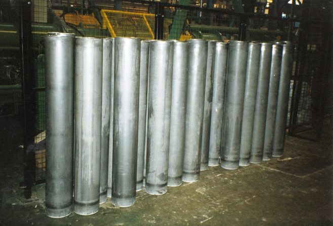 JB277  Cylinders after final draw process | Supplied by John Bancroft