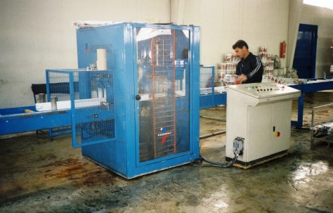 Photographs of 'Robopac' Wrapping Machine, O/No. 301-65570, c.1993