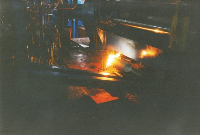 JB346  Hot billet acetylene sooting device | Supplied by John Bancroft