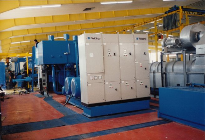 JB355  Press motor and auxiliaries starter panels   Supplied by John Bancroft