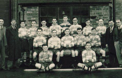 Atlas Works' rugby team, 1945-1946