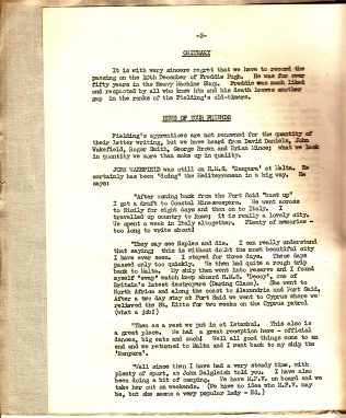 Forces Newsletter 1957