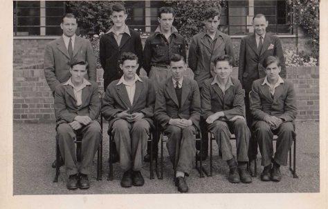 Apprentice intake August 1946