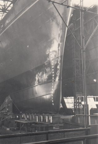 Fitting Shop, shell presses,extrusion presses, Glasgow and seeing Royal Yacht Launched in 1953.