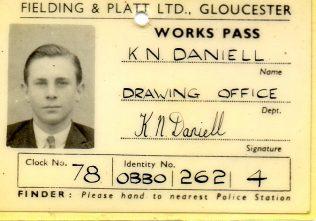 Wartime Security Pass
