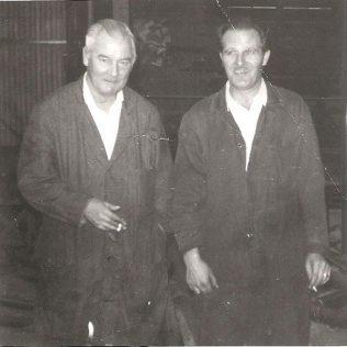 Ken Juggins and colleague