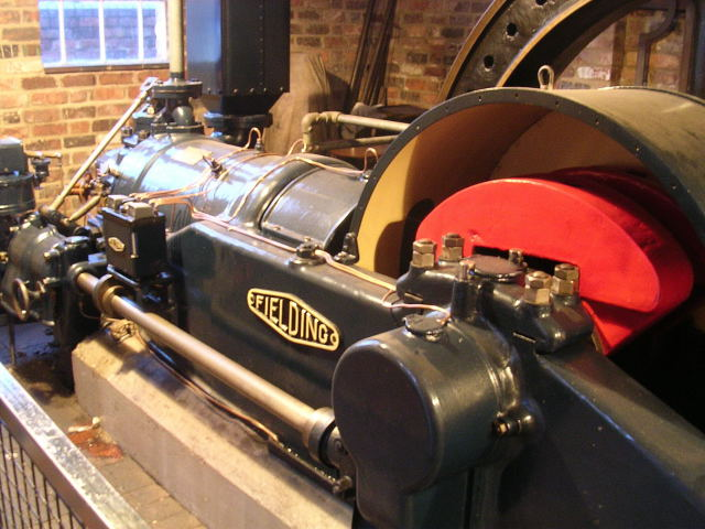 Photo of Gloucester Waterways Museum engine (for reference only)