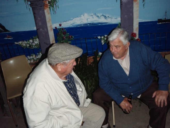 Tony Ravenhill's 70th birthday celebrations