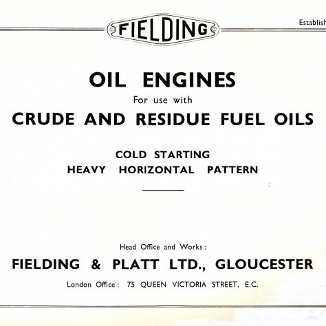 Oil Engines - Page 1 | Gloucestershire Archives & John Bancroft copy