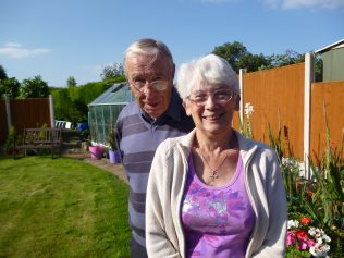 Margaret explains how she and Ron met at one of Fielding's sports' days in the 1950s and what happened next...
