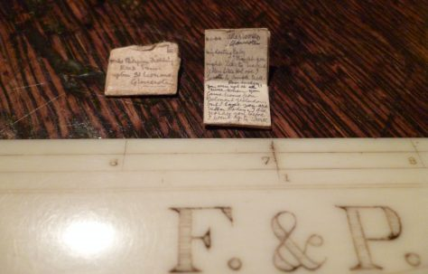 The smallest letter ever sent from the Atlas Works