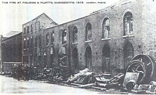PR0105  Fire damage 1913 | The Paul Regester Collection