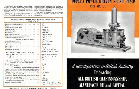 BOFEC-Fielding Duplex Power-Driven Slush Pump