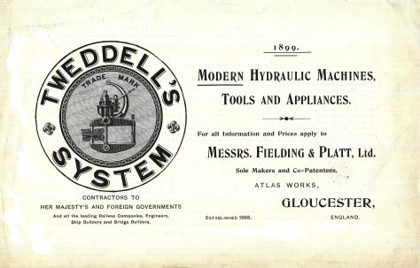 Modern Hydraulic Machines, Tools and Appliances