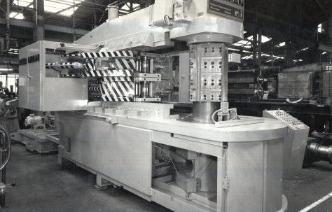 Redman Hydraulic Bumper Bar Forming Machine