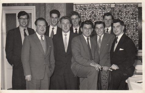 Gerald Moore's 18th Birthday Party late 1950s