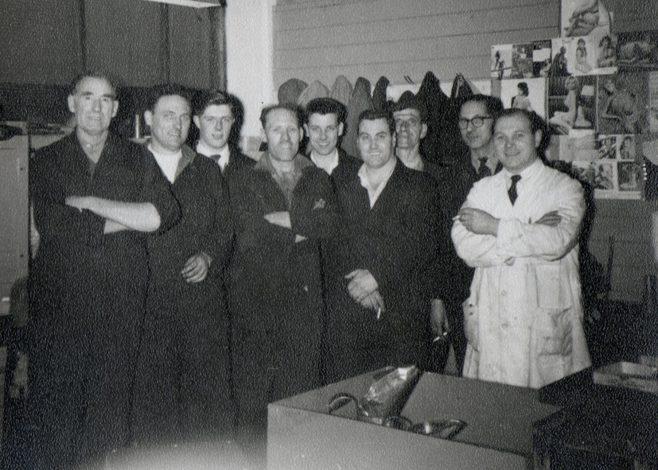 George Simpson, Henry Savage, Dave Moore, Arthur Aperley, Chris Hemmings, Don Keyse, Alf Critchley, Jack Sysum, Monty Blunt.