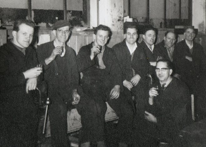 Ray Price, Alf Critchley, ?, Don Keyse, Henry Savage, Arthur Aperley, George Simpson, Jack Sysum
